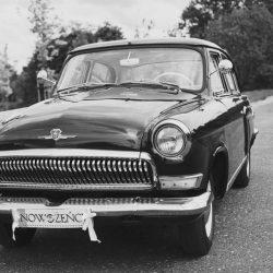 zabytkowy samochód na ślub olsztyn i okolice