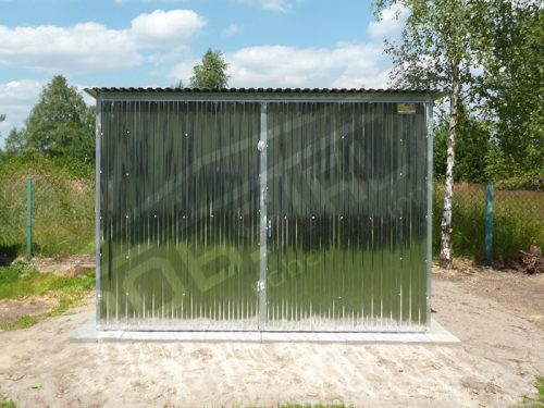 Garaż Blaszany Konstrukcja Ocynkowana Garaże 35 I Gatunek