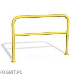 barierka U-12a, bariera trzepak, barierka trzepak, bariera żółta, bariera odgradzająca, barierka zabezpieczająca, bariera, bezpieczeństwo na drodze, organizacja ruchu drogowego