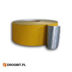 taśma_najezdnię_oznakowanie_poziome, taśma aluminiowa, taśma z aluminiowym podkładem, taśma do oznakowania poziomego, taśma do łatwego montażu i demontażu na drodze
