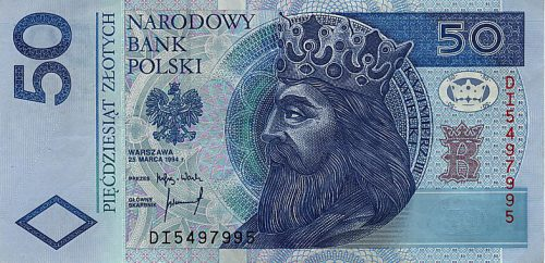 12 banknot 50